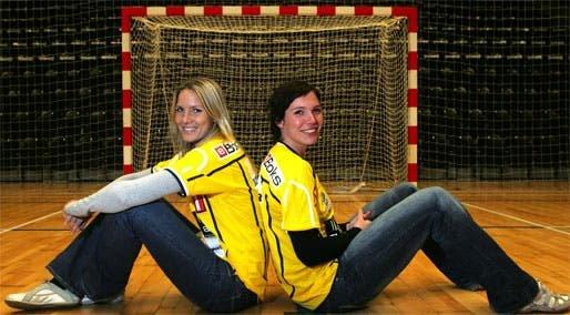 Gro Hammerseng y Katja Nyberg la pareja explosiva del balonmano