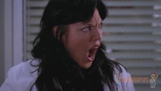 Callie Torres con la boca abierta
