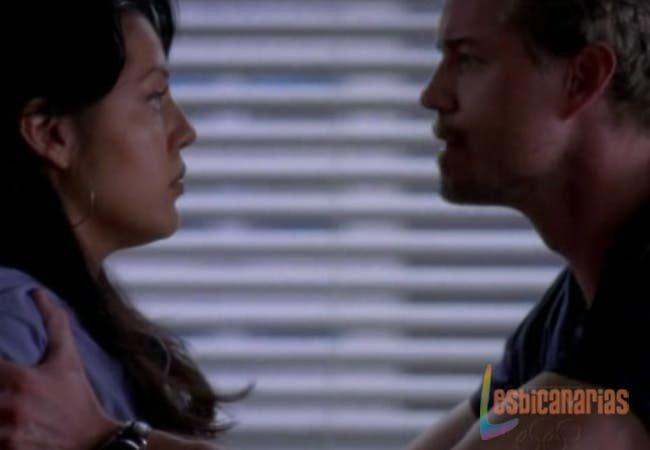 Callie y Mark hablando