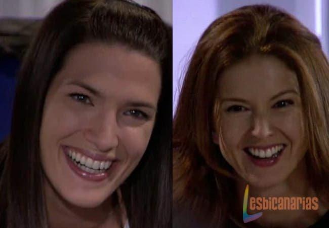 Pepa y Silvia muertas de risa
