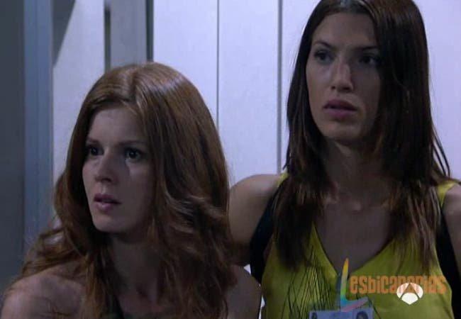 Pepa y Silvia preocupadas