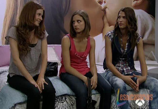 Pepa y Silvia con Sara