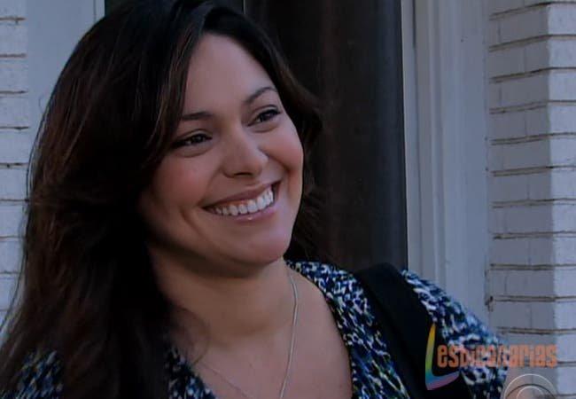 Natalia sonriendo