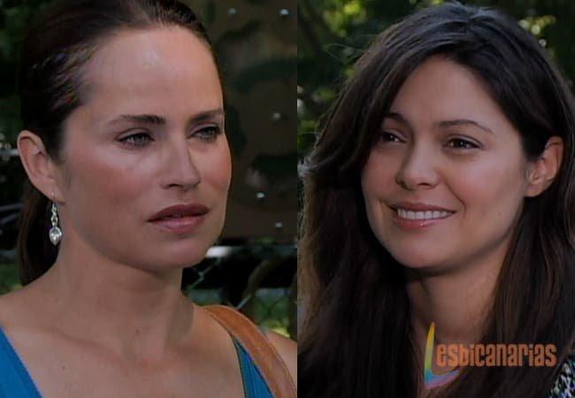 Olivia y Natalia se reencuentran
