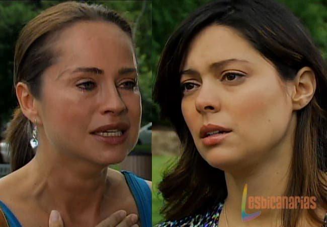 Oliva llorando con Natalia