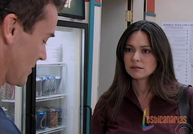 Natalia hablando con Matt