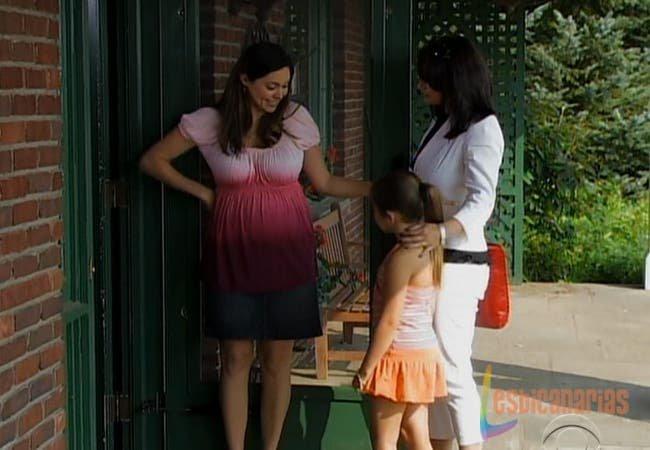 Natalia, Olivia y Emma en la granja del amor