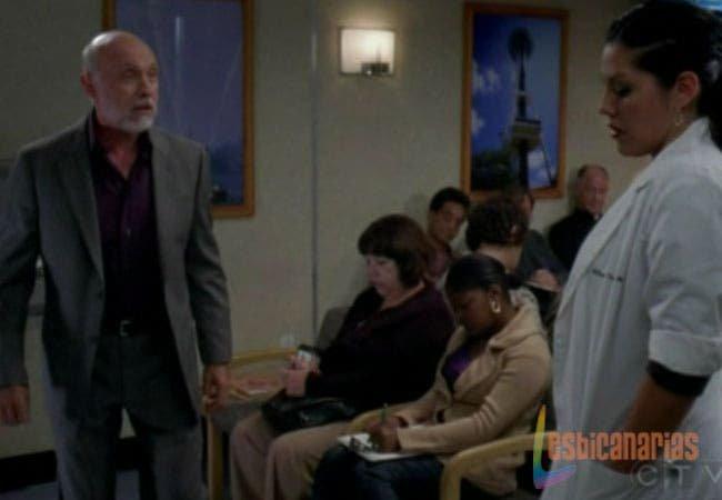 Callie encontrándose con su padre