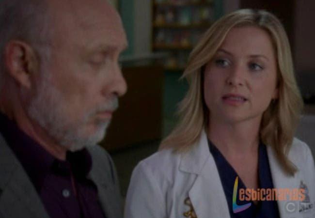 Arizona habla con el padre de Callie
