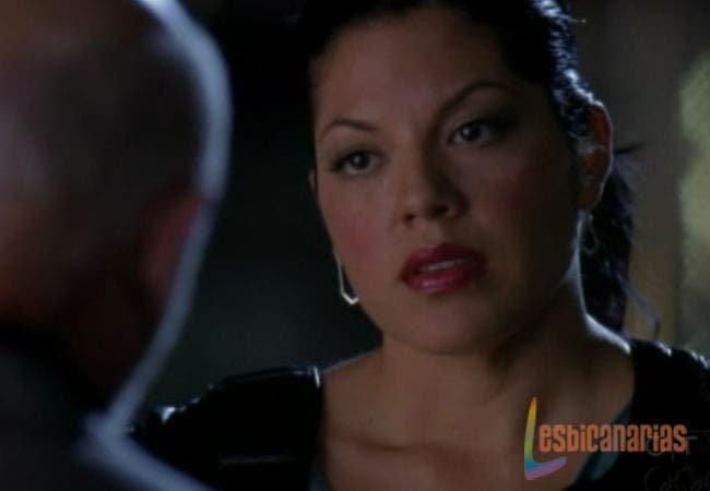 Callie enfadada con su padre