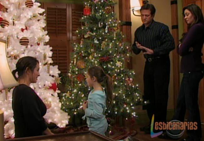 Otalia y sus árboles de navidad