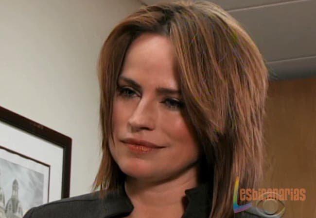 Olivia Spencer enojada