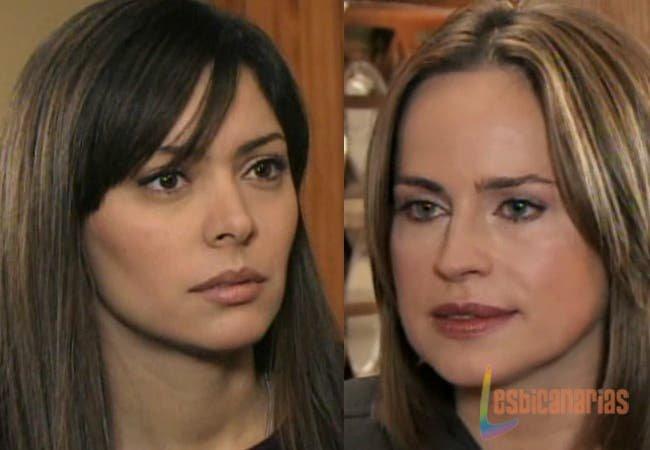 Olivia y Natalia enojadas