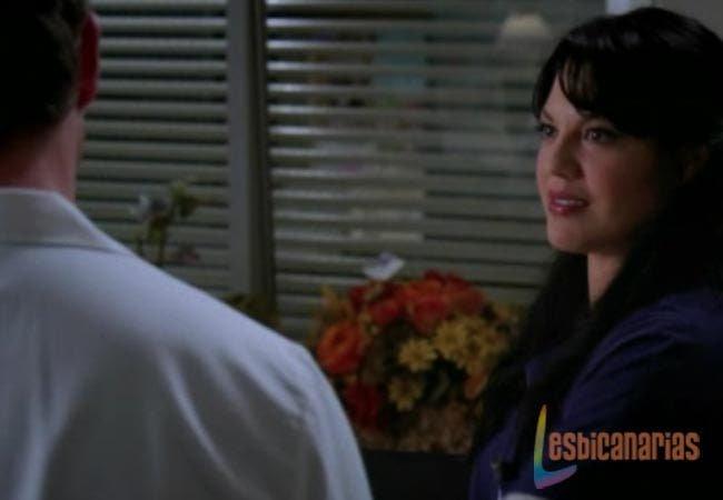 Callie y Mark Anatomía de Grey