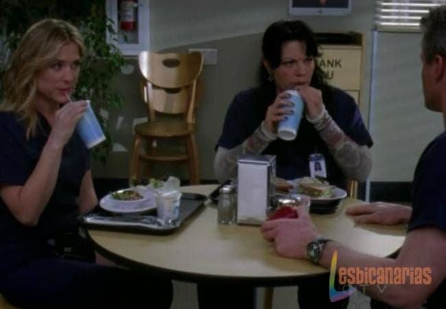 Sloan, Callie y Arizona Anatomía de Grey