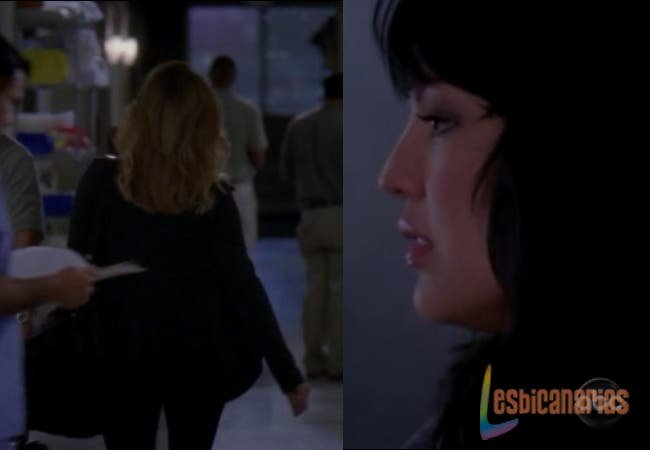 Callie y Arizona Anatomía de Grey