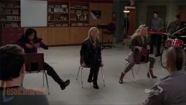 Brittany y Santana nos llegan al corazón esta semana en Glee