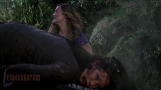 Callie y Arizona accidentadas