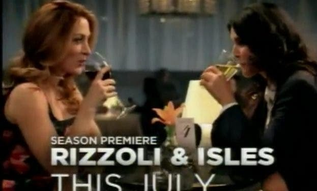 Rizzoli & Isles estrena un promo muy lesbicanario