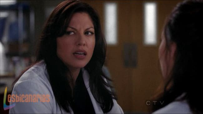 Callie en el hospital