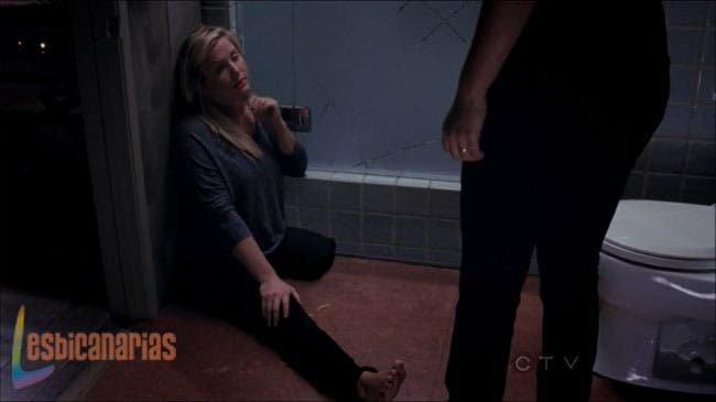 Callie se encuentra a Arizona tirada