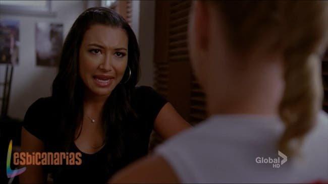 Santana cantándole a Brittany 2