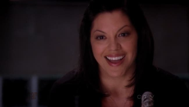 Callie disfrutando