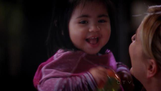 Sofia sonriendo