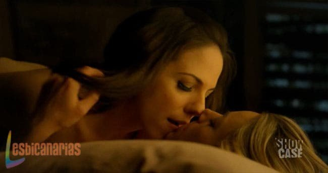 Bo y Lauren en la cama