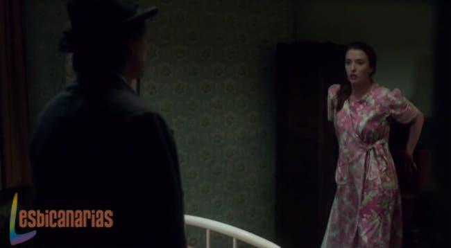 Kate huyendo de su padre