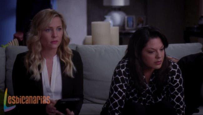 Callie y Arizona buscando soluciones