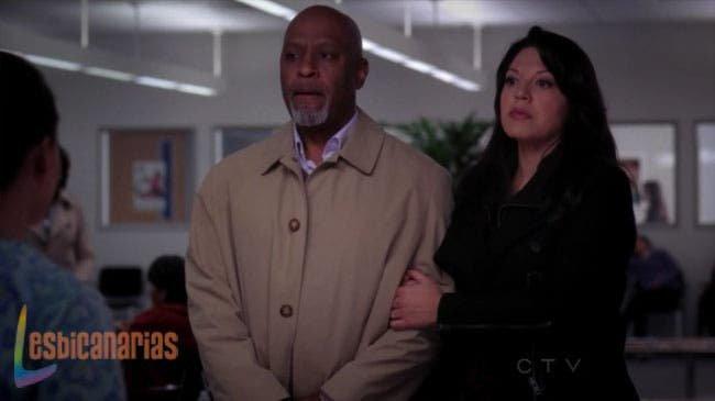 Callie y Richard fingiendo