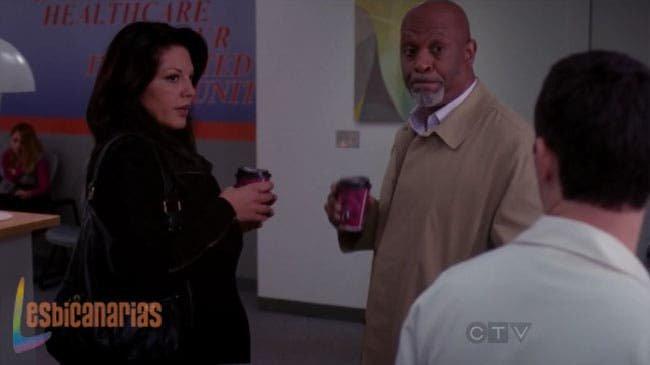 Callie y Webber intentando infiltrarse