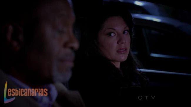 Callie y Webber tristes