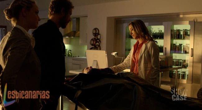 Dyson y Tamsin con Lauren