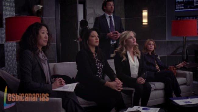 Callie y Arizona dándolo todo