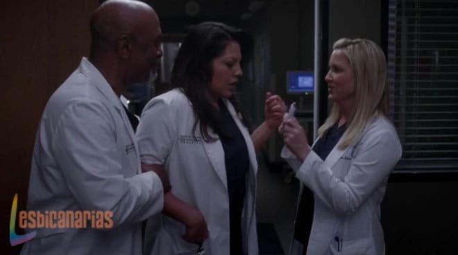 Arizona y Webber sorprenden a Callie