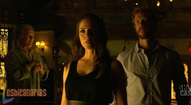 Bo y Dyson con el guardian