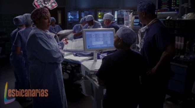 Callie con Webber y Bailey