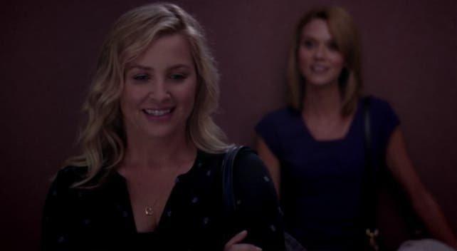 Arizona y Lauren en el elevador