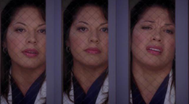 Callie intenta hacerse la dura