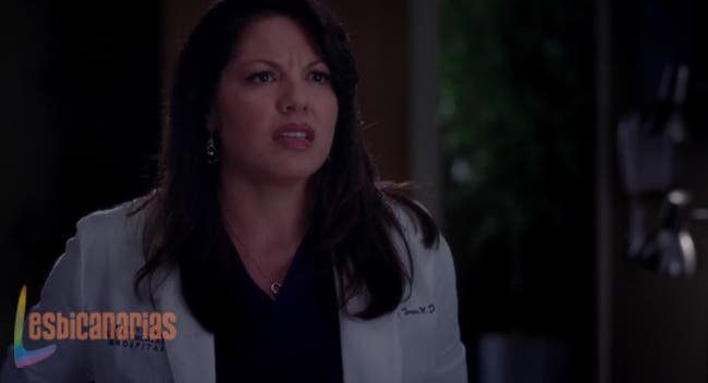 Callie preocupada por Arizona
