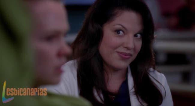 Callie salvando a su paciente