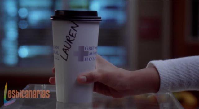 El vaso de Lauren