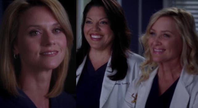 Lauren expicando a Callie y Arizona