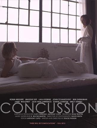 «Concussion» primer tráiler de la película lésbica
