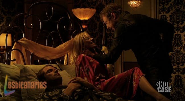 Dyson peleando con Selene