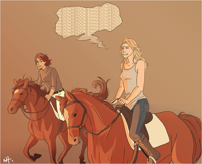 A ride together Swan Queen