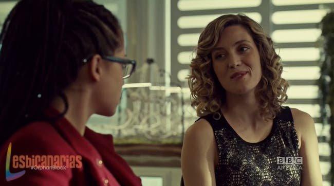 Cosima y Delphine pareja lésbica