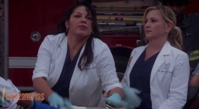 Callie y Arizona en Anatomía de Grey
